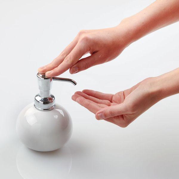 Dispensador-De-Jabon-York-136-178-13Cm-Ceramica-Blanco----
