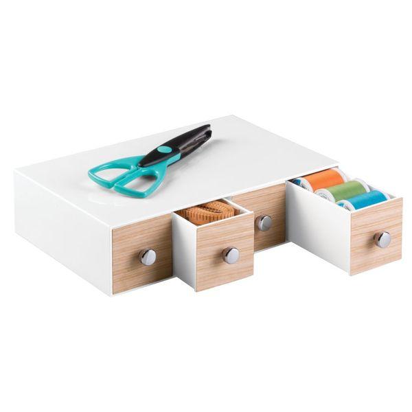 Caja-Organizadora-Tower-18-225-127Cm-Plastico-Madera-Bco--