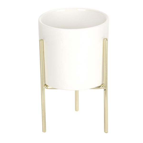 Matera-Babylone-M-8-13.5Cm-Ceramica-Blanco------------------