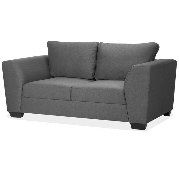 Sofa-2-Puestos-Oslo-Tela-Joseph-Gris-Oscuro-----------------