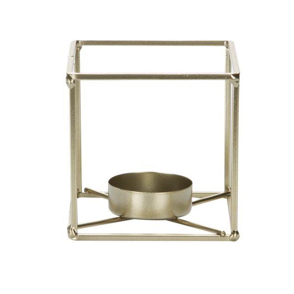 P-Vela-Cube-8-8-8Cm-Metal-Dorado----------------------------