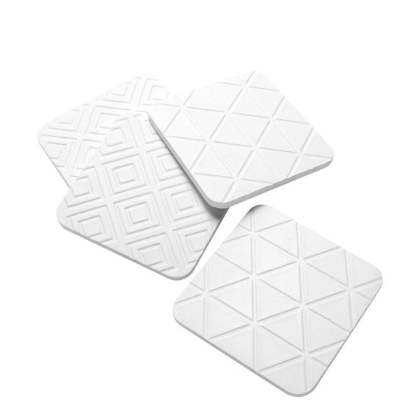 Set-4-Individuales-Triangulos-10-10-1Cm-Blanco--------------