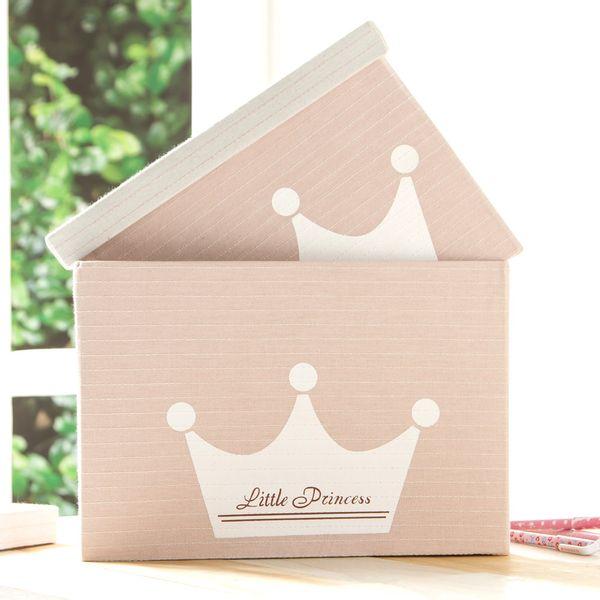 Caja-Princess-31-31-21Cm-Poliester-Rosa---------------------