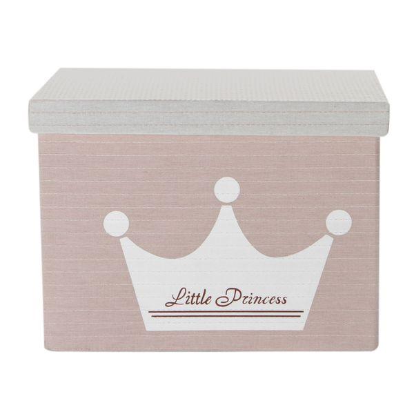 Caja-Pequeña-Princess-27-27-19Cm-Poliester-Rosa-------------