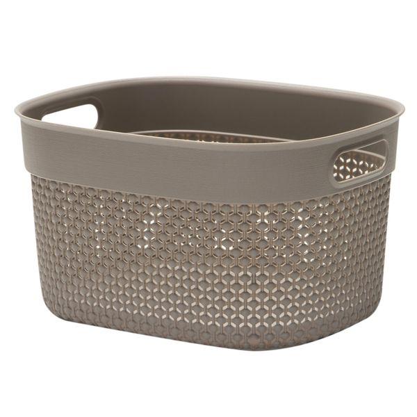 Contenedor-Filo-Basket-L-38-28-22Cm-Plastico-Taupe----------