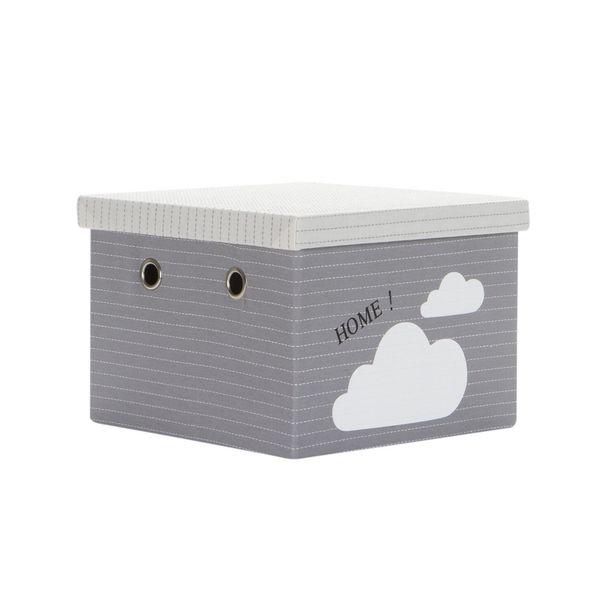 Caja-Pequeña-Clouds-27-27-19Cm-Poliester-Gris---------------