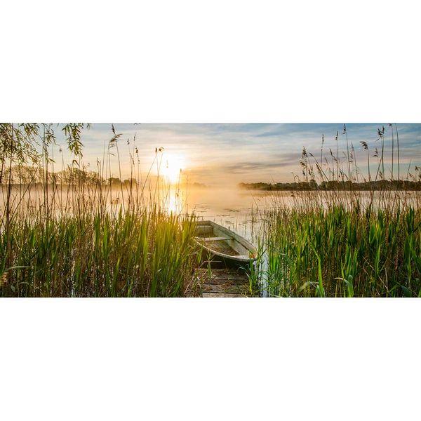 Cuadro-Boat-In-The-Grass-50-125Cm-Vidrio--------------------