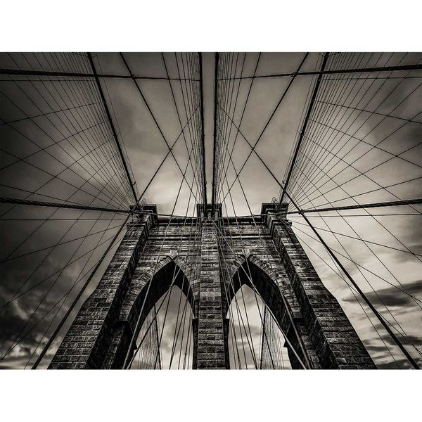 Cuadro-Brooklyn-85-113Cm-Canvas-Silver----------------------