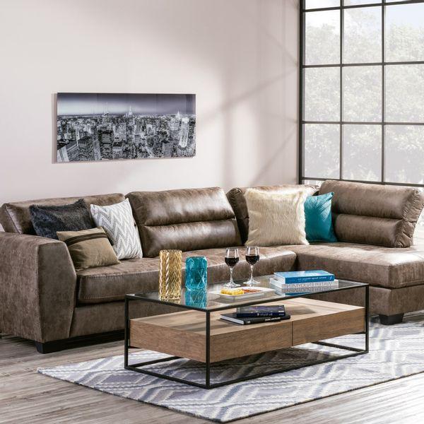 Sofa-En-L-Derecho-Badlan-Microfibra-Taupe------------------