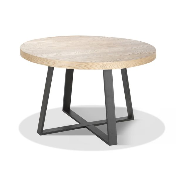 Mesa-De-Comedor-Boston-120D-76-Natural-Elm---Base-Negra