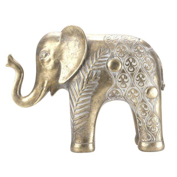 Figura-C19-Elefante-Cairo-24-9.6-19Cm-Poliresina-Dorado-----