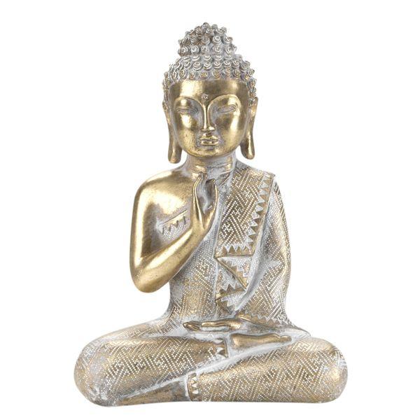 Figura-C19-Buda-Cairo-15.5-9-20Cm-Poliresina-Dorado---------