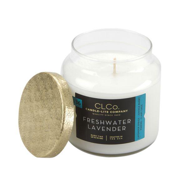 Vela-14-Oz-Candle-Lite-Tapa-Dorada-Freshwater-Lavander------