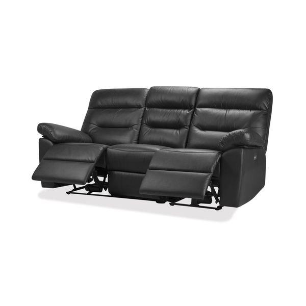 Sofa-3-Puestos-Recli-Elec-Kingstone-Cuero---Pvc-Negro-------