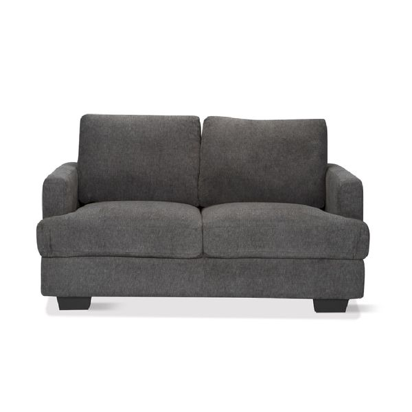 Sofa-2-Puestos-Madison-Tela-Charleston-Gris-Oscuro----------