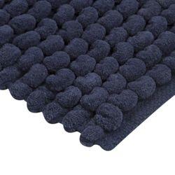 Tapete-Baño-Cotton-Cubes-40-60Cm-Poliester-Azul-------------