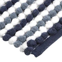 Tapete-Baño-Cotton-Cubes-40-60Cm-Poliester-Azul-Blanco------