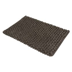 Tapete-Baño-Cotton-Cubes-40-60Cm-Poliester-Gris-Oscuro------