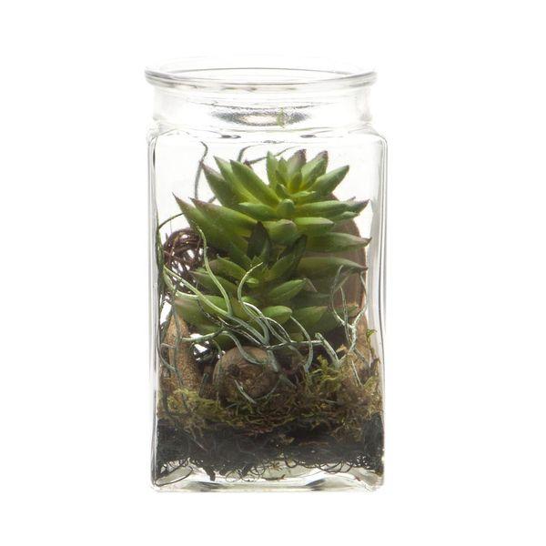 Planta-Artificial-Bonsai-Musgo-10-19Cm-Vidrio---------------