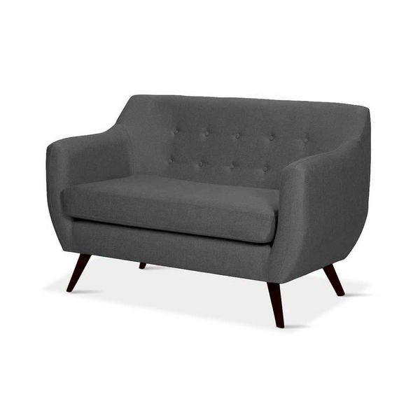 Sofa-2-Puestos-Metty-Patas-Wenge-Tela-Nova-Gris-Oscuro------