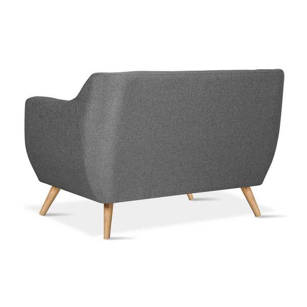 Sofa-2-Puestos-Metty-Patas-Madera-Tela-Nova-Gris-Oscuro-----
