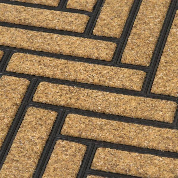 Tapete-Entrada-Bali-Bricks-45-75Cm-Plastico-Nat-Negro-------