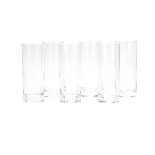 Set-6-Vasos-Largos-Islande-Vidrio-Transparente--------------