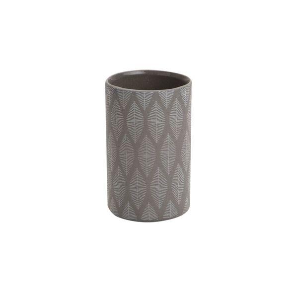 Vaso-Baño-Tupian-7-7-12Cm-Ceramica-Gris---------------------
