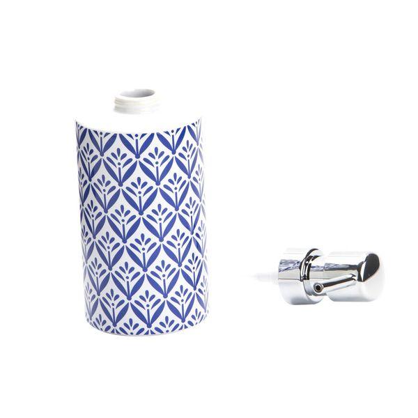 Dispensador-Jabon-Lorca-7-8.5-18Cm-Ceramica-Blanco-Azul-----