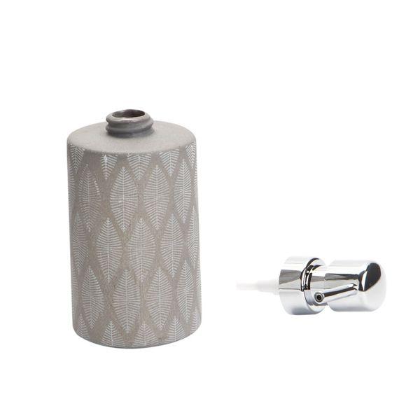 Dispensador-Jabon-Tupian-7-8.5-17Cm-Ceramica-Gris-----------