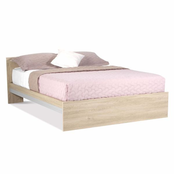 Cama-Doble-Ekko-140-190Cm-Lam-Roble-------------------------