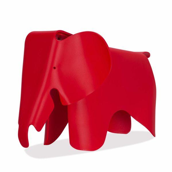 Puff-Eames-Elefante-Plastico-Eames-Rojo---------------------