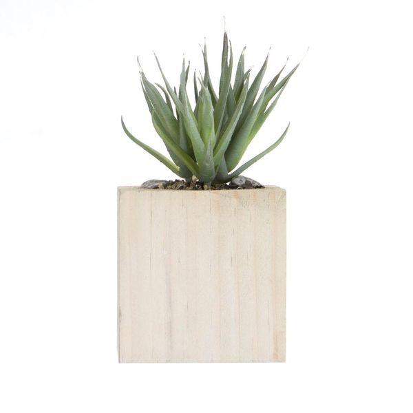 Planta-Artificial-Bonsai-Suculenta-8.5-9Cm-Madera-----------