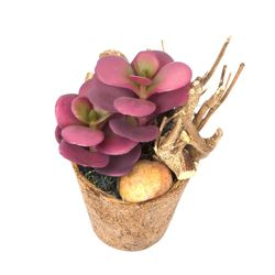 Planta-Artificial-Bonsai-Flor-8-19Cm-Fibra-Coco-------------