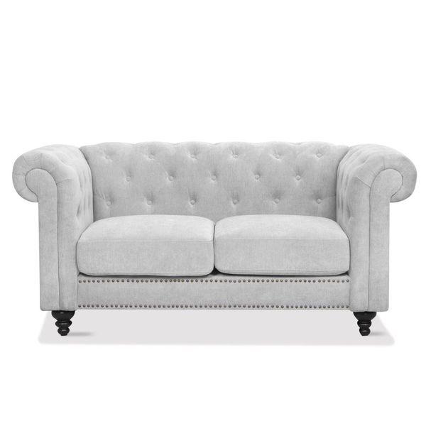 Sofa-2-Puestos-Chester-Tela-Holly-Gris----------------------