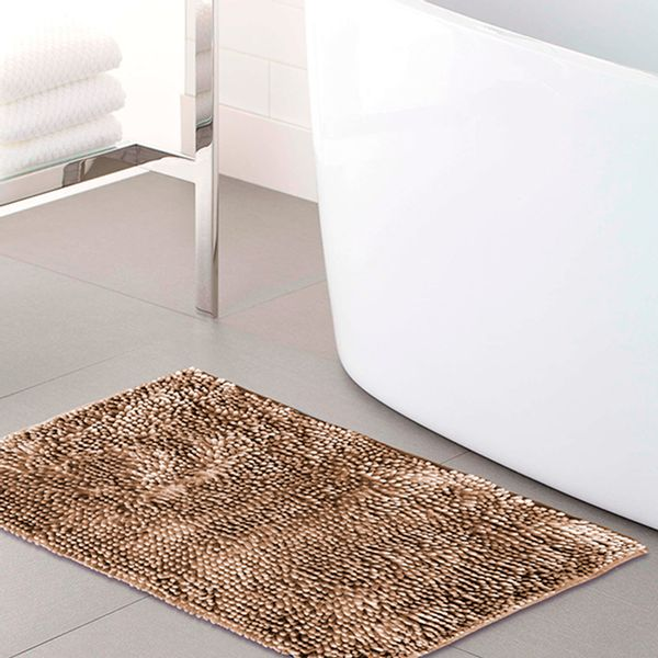 Tapete-de-baño-Loop-40x60-cm-Cafe