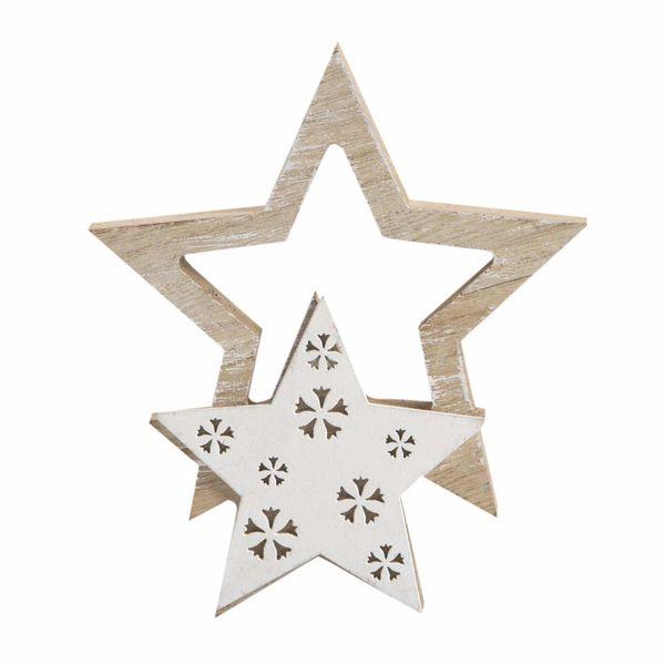 Navidad-C19-Estrellas-Siluetas-13-15Cm-Madera-Nat-Blanco
