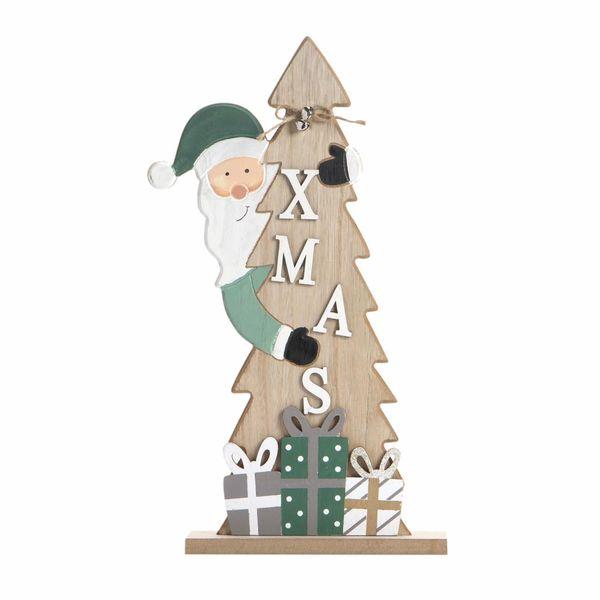Navidad-C19-Arbol-Decorativo-Regalos-18-39.5Cm-Mad-Nat-Verde