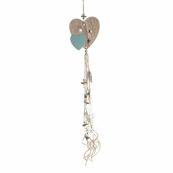Navidad-C19-Aplique-Decorativo-Hearts-14-70Cm-Mad-Nat-Verde