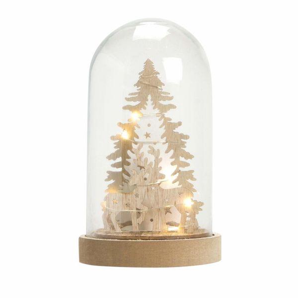 Navidad-C19-Snowglobe-Nordic-Reindeers-11.5-19.5Cm-Mad-Nat