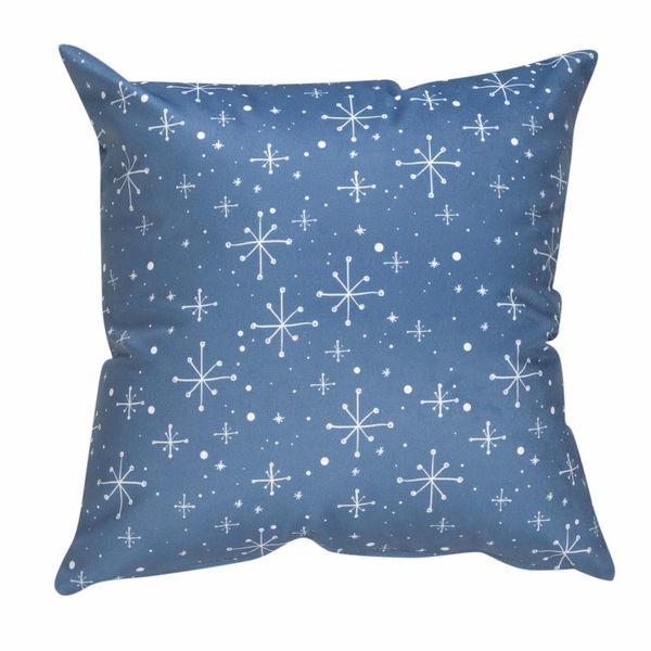 Navidad-C19-Funda-Cojin-Snowflakes-45-45Cm-Pol-Varios