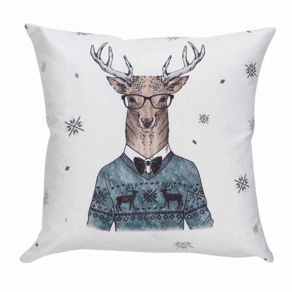 Navidad-C19-Funda-Cojin-Comfy-Deer-45-45Cm-Pol-Varios