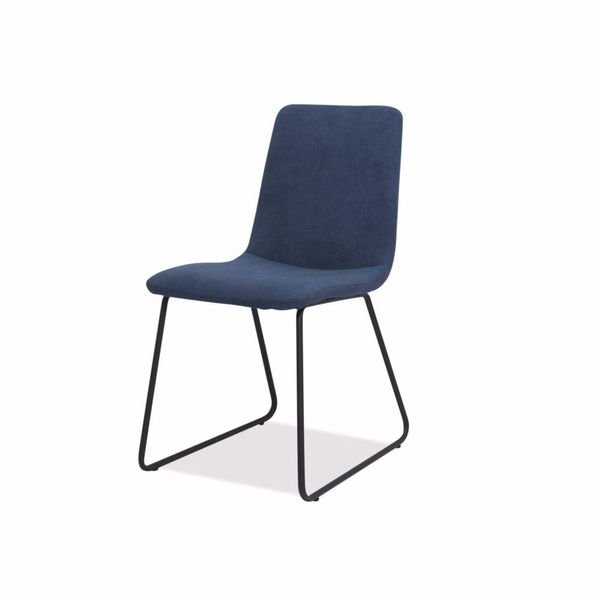 Silla-De-Comedor-Abstract-Tela-Azul---Metal-Negro-----------