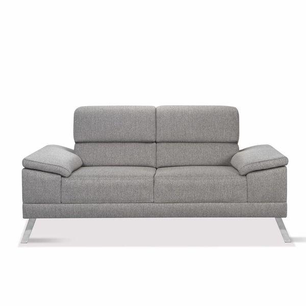 Sofa-2-Puestos-Pompeya-Gris-Tela-Taiko----------------------