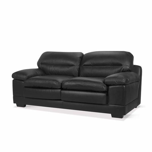 Sofa-3-Puestos-Monroe-Cuero---Pvc-Negro---------------------
