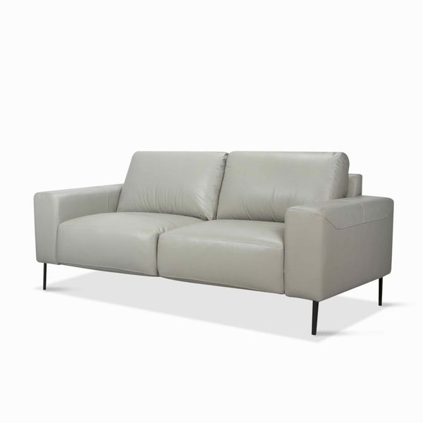 Sofa-3-Puestos-Gus-Cuero---Pvc-Gris-Claro-Ice---------------