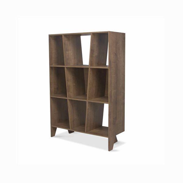 Biblioteca-Lift-93-36.5-136.5-Lam-Nogal-Rustico
