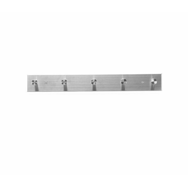 Perchero-Pared-5-Spots-46-5-6Cm-Acero-Plata-Mate------------