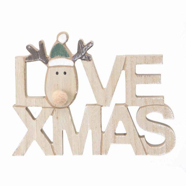 Navidad-C19-Letrero-Love-Xmas-13.5-18Cm-Madera-Nat-Verde----