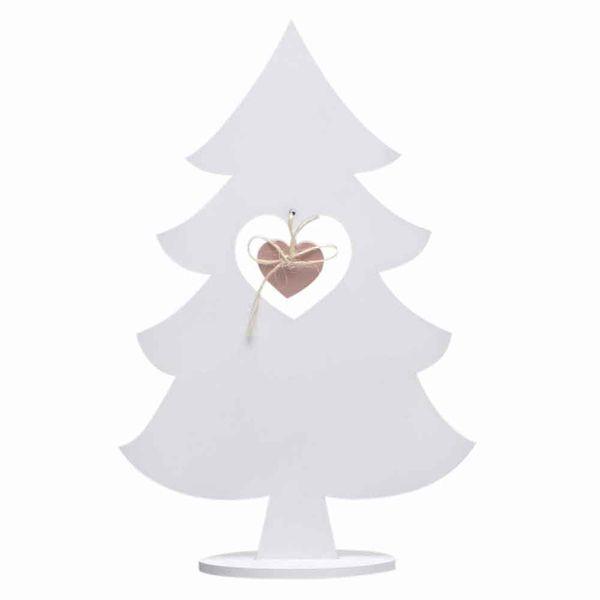 Navidad-C19-Arbol-Corazon-12-7-20Cm-Madera-Blanco-----------